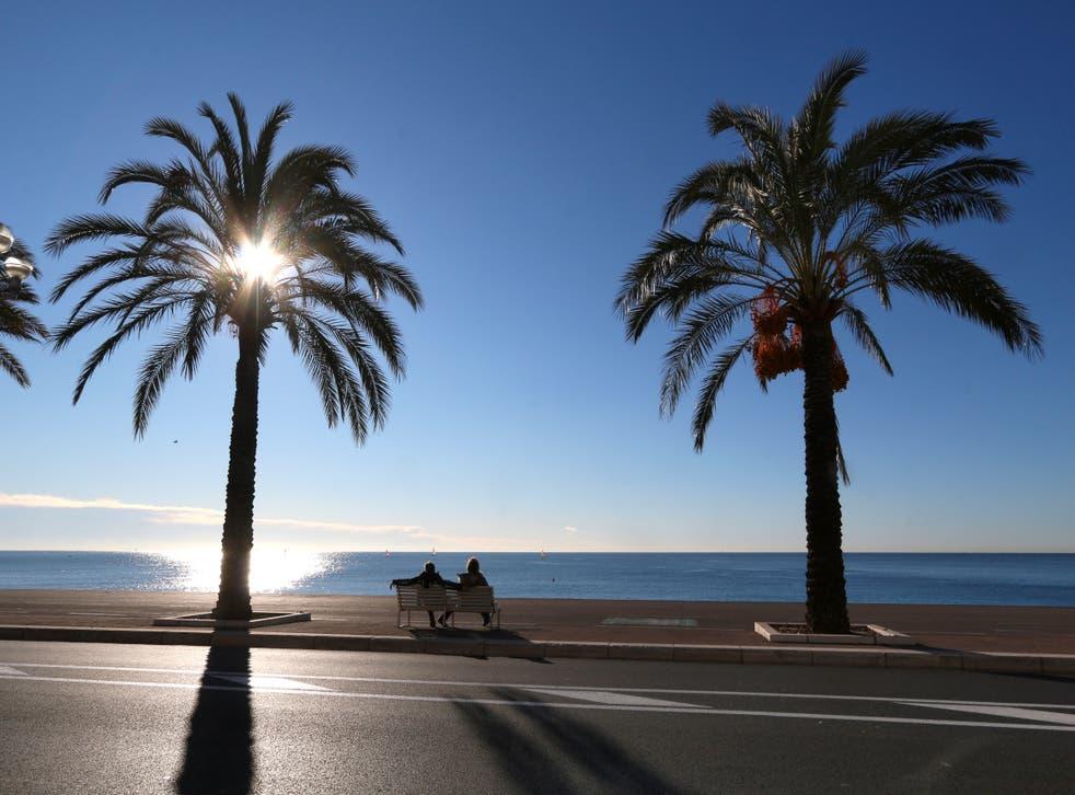 Virus Outbreak France Riviera Lockdown