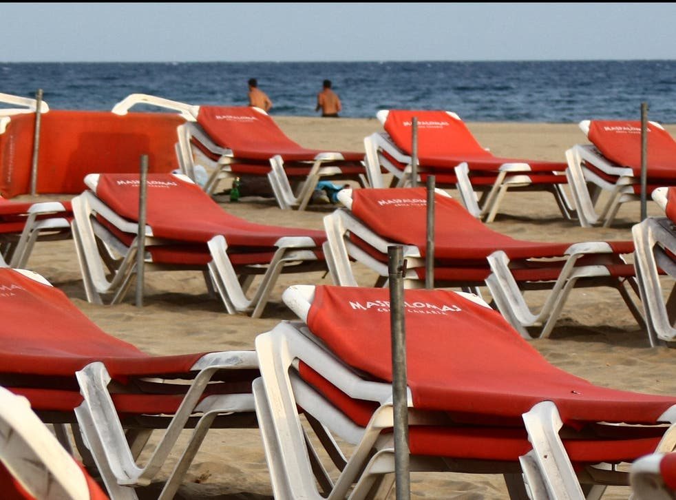 Dream holiday? Beach on the south coast of Gran Canaria