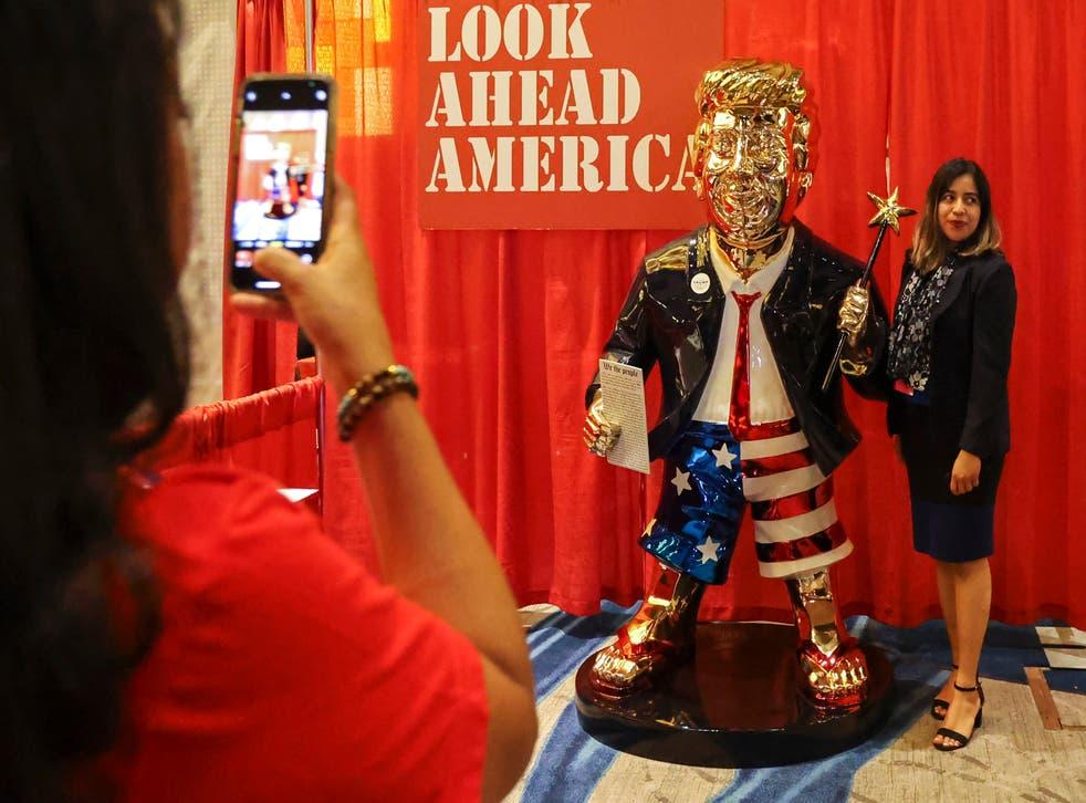 CPAC Trump Statue