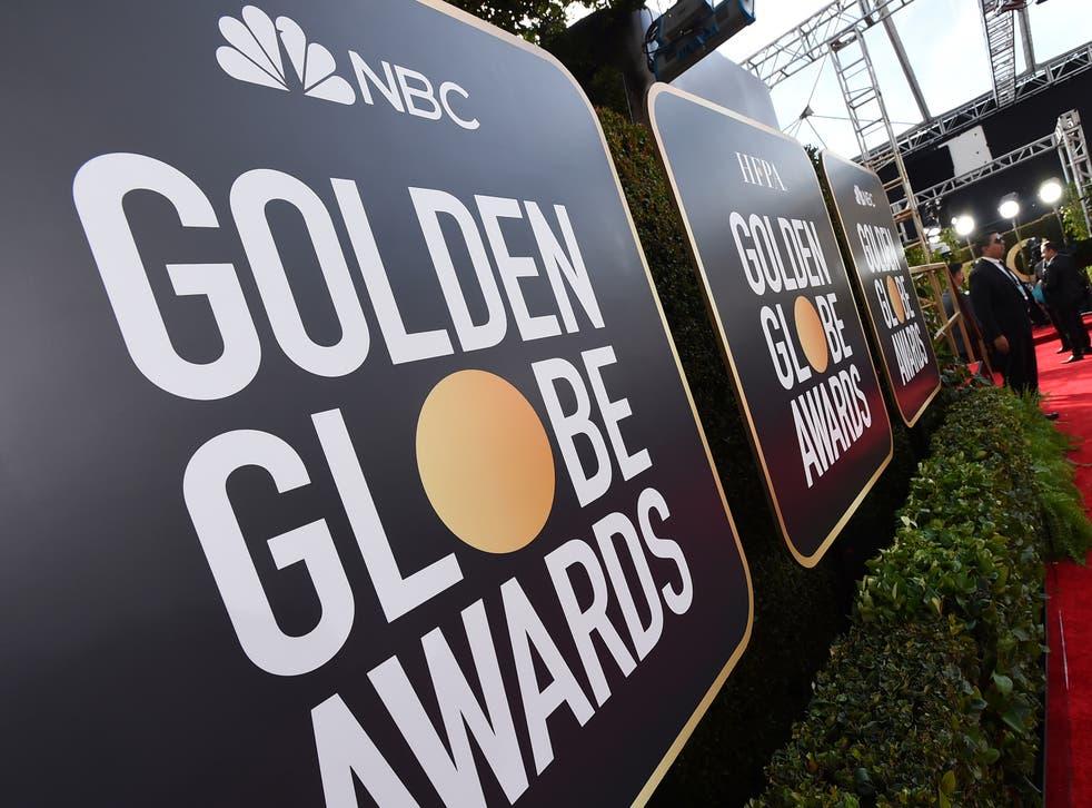 Golden Globes Laydown