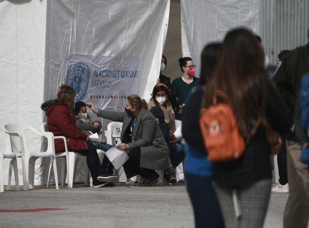 Mexico Asylum Seekers