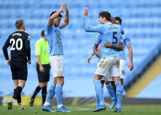 <p>Los Citizens ganaron 2-1 gracias a los goles de Rúben Dias y John Stones</p>