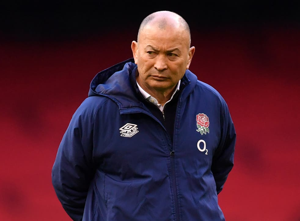 <p>Eddie Jones refused to blame the referee for England's defeat</p>