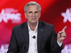 CPAC: Kevin McCarthy apuesta su casa a que los republicanos tendrán la mayoría en la Cámara en 2022
