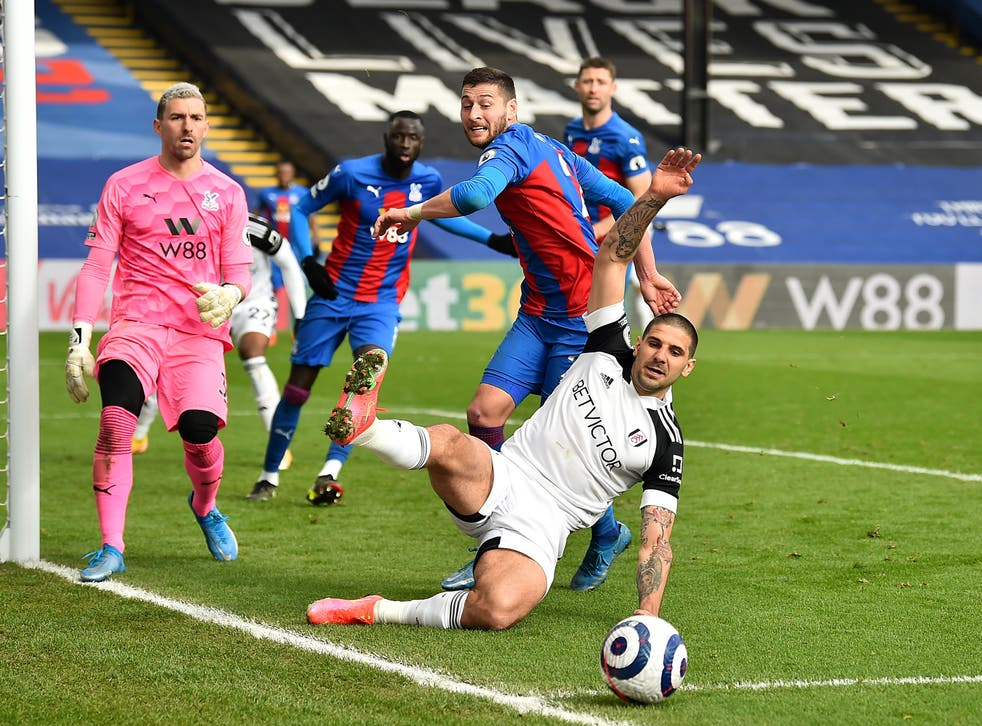 Neither Fulham nor Crystal Palace were able to find the net at Selhurst Park