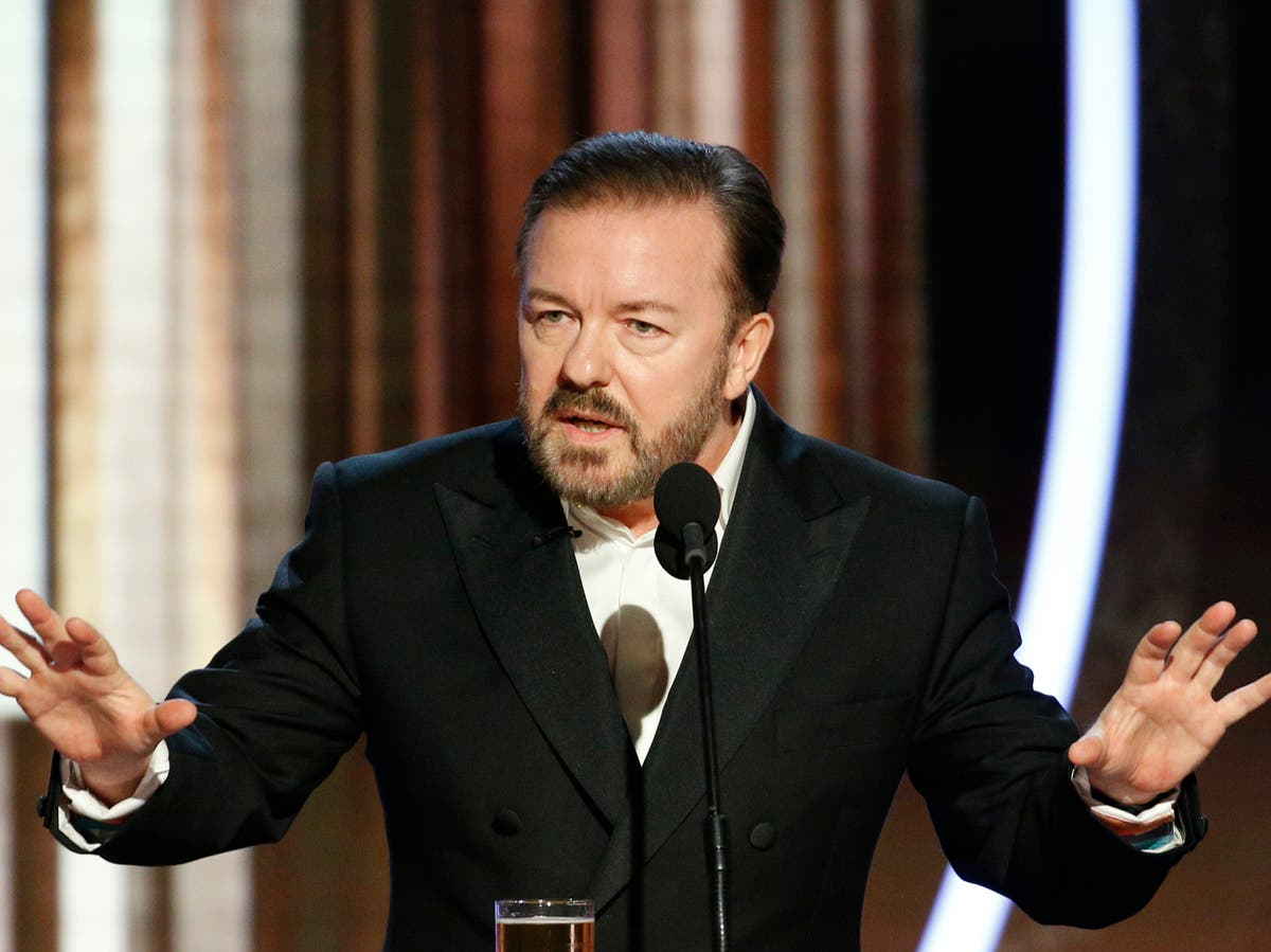 Ricky Gervais shares message for Hollywood stars ahead of Golden Globes
