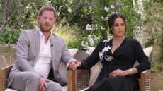 El príncipe Harry y Meghan Markle invocan a la princesa Diana en entrevista con Oprah Winfrey