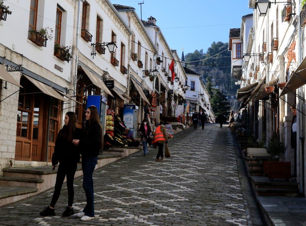 Virus Outbreak Albania Tourism