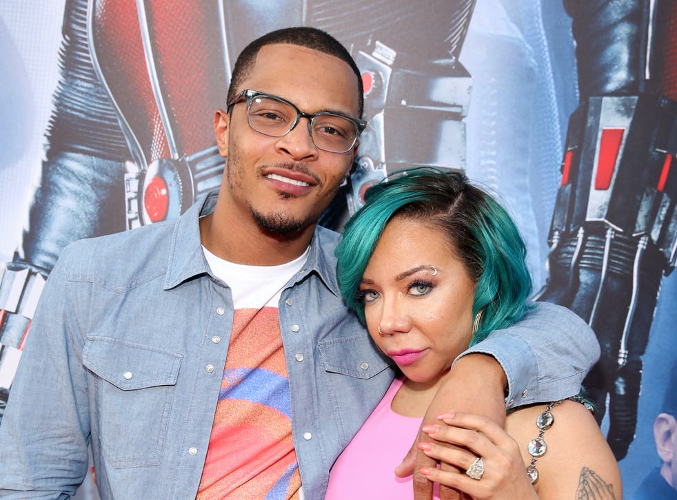 TI and his wife Tiny