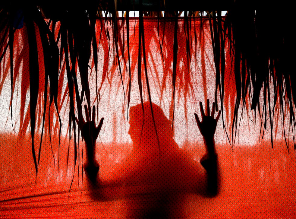 <p>File image: An exorcist beats up a 9-year-old girl to 'drive away evil spirit' </p>