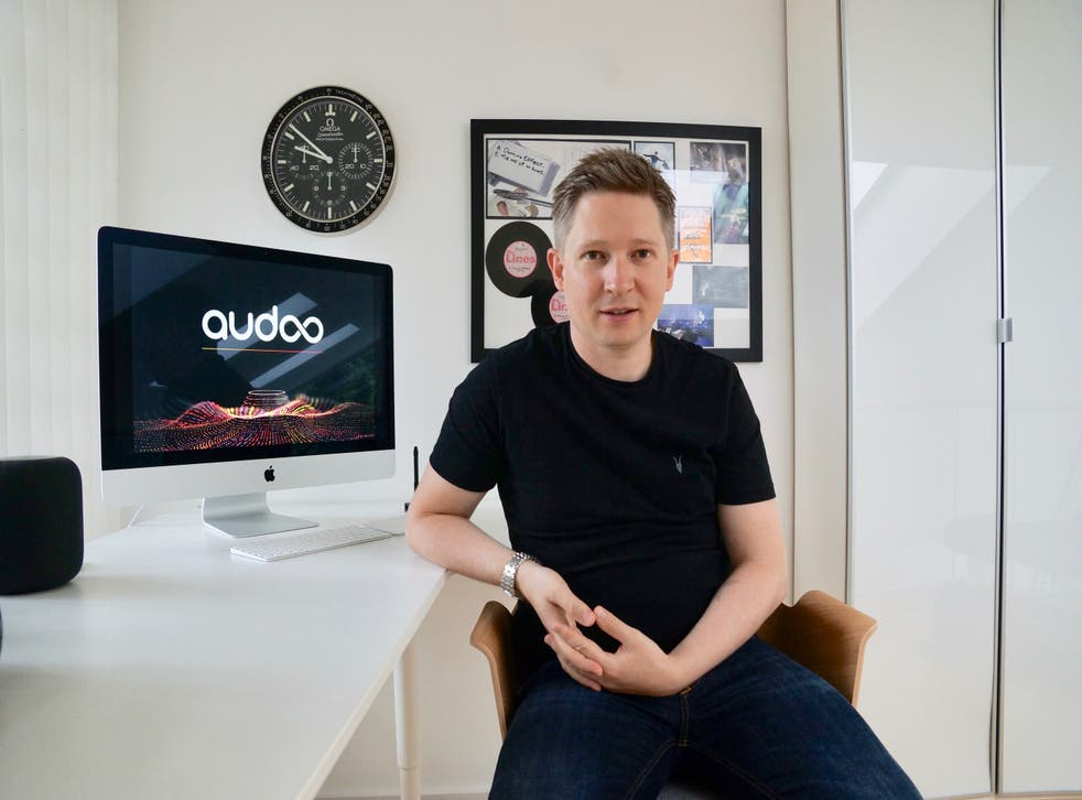 <p>Ryan Edwards: 'We are collecting the greatest set of data on music ever created' </p>