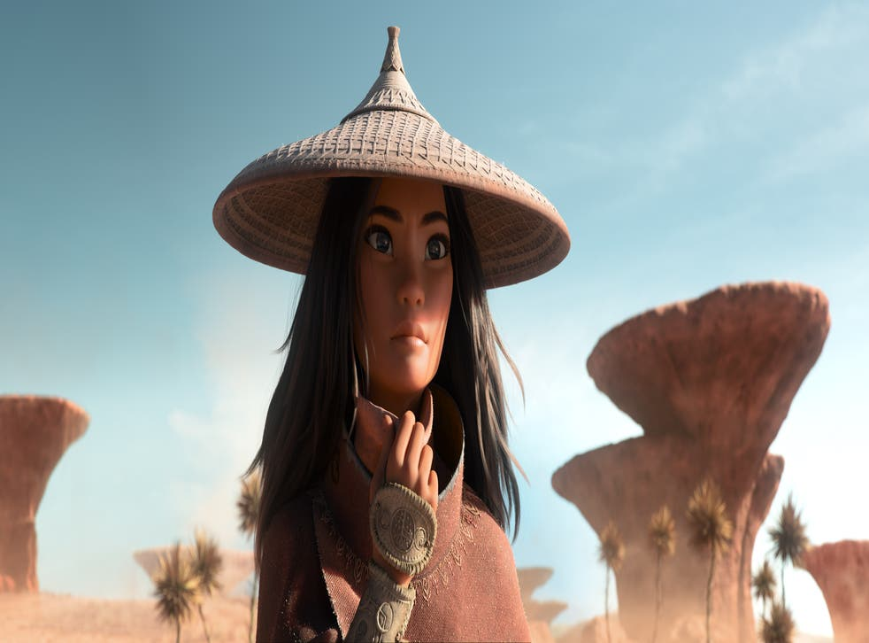 <p>Raya is winningly played by Star Wars's Kelly Marie Tran, whose voice radiates tenderness, able to capture the character's edges both hard and soft</p>