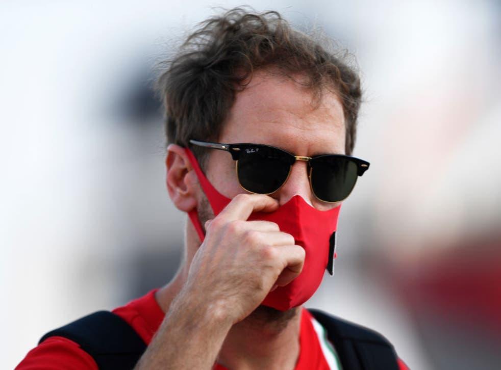 <p>Sebastian Vettel has left Ferrari to join Aston Martin</p>