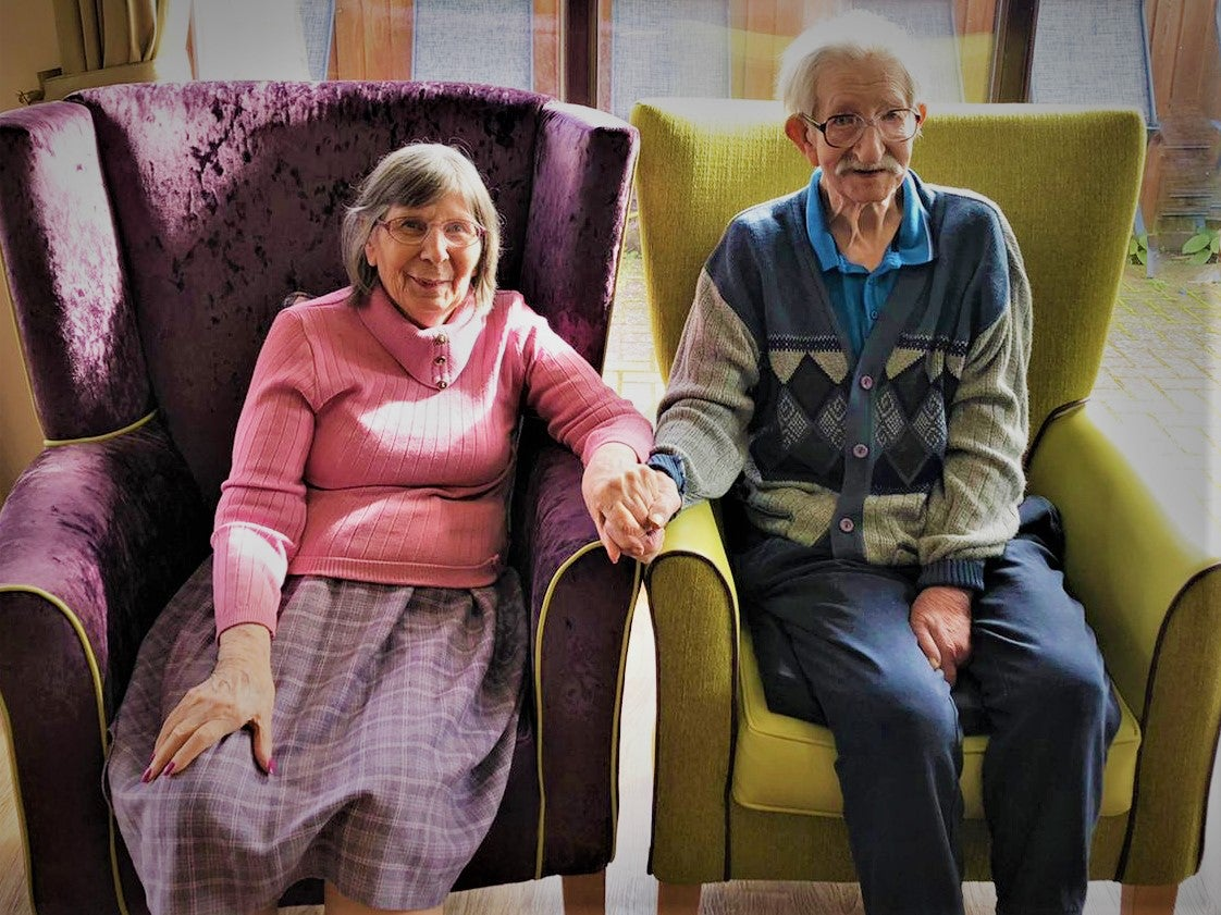 Couple married for 65 years recount 'wonderful' reunion after forced separation