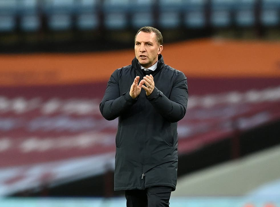 <p>Leicester City manager Brendan Rodgers</p>