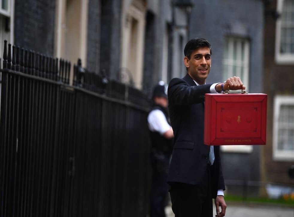 <p>Chancellor Rishi Sunak presents his Budget this week</p>