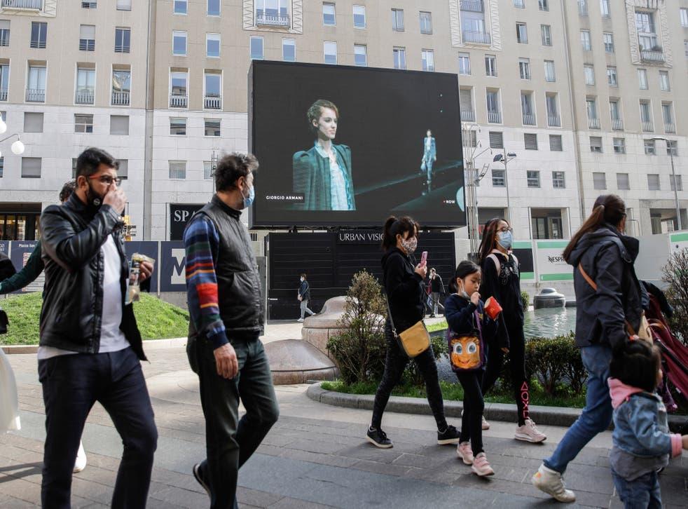 Italy Fashion Week Digital