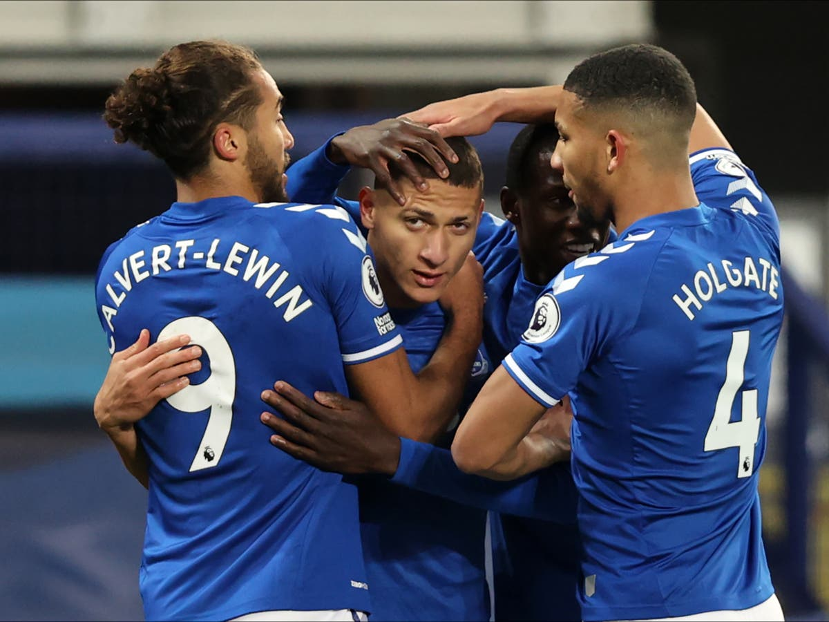 Richarlison strikes early as Everton deepen Southampton's misery