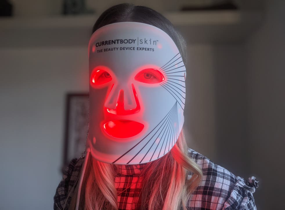LED face masks are all the rage right now