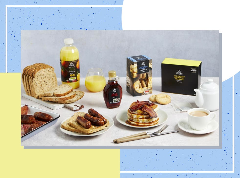 <p>From a stack of pancakes, sausage sandwich and even white chocolate cookies, there's nothing not to love about the £20 breakfast box </p>