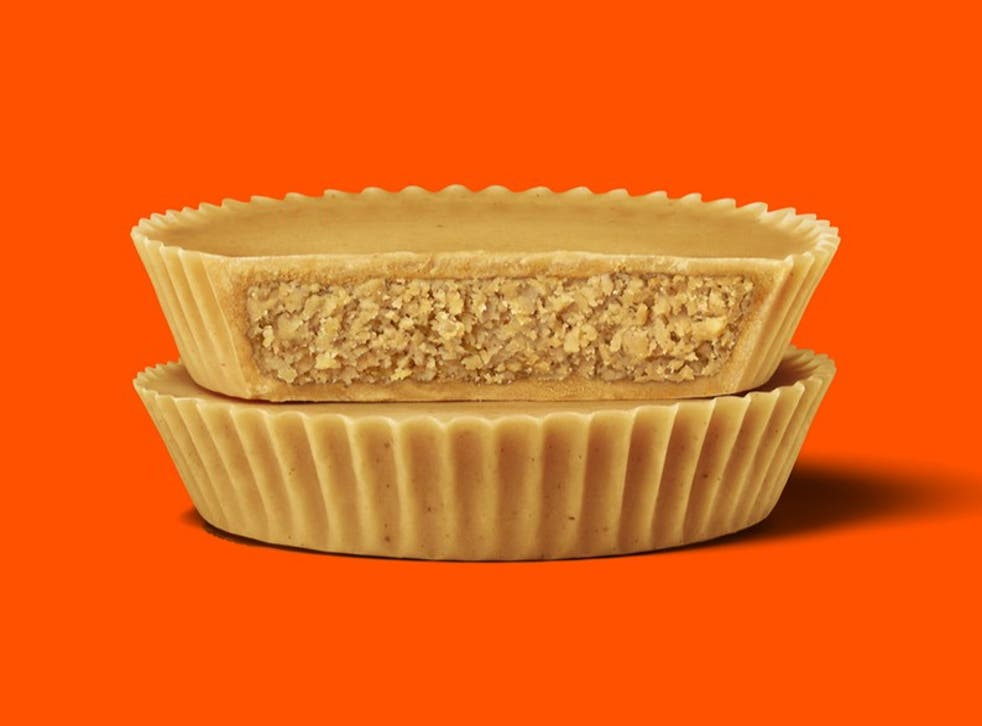 <p>Reese's new double peanut cup</p>