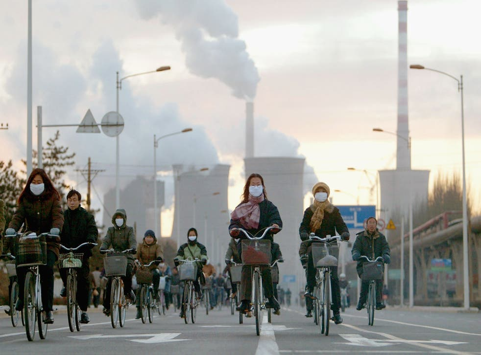 <p>China emits the most greenhouse gases worldwide</p>
