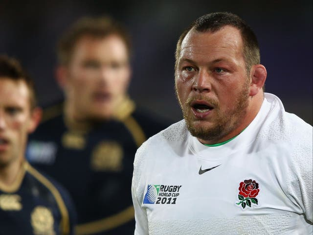 Former England prop Steve Thompson has been diagnosed with dementia