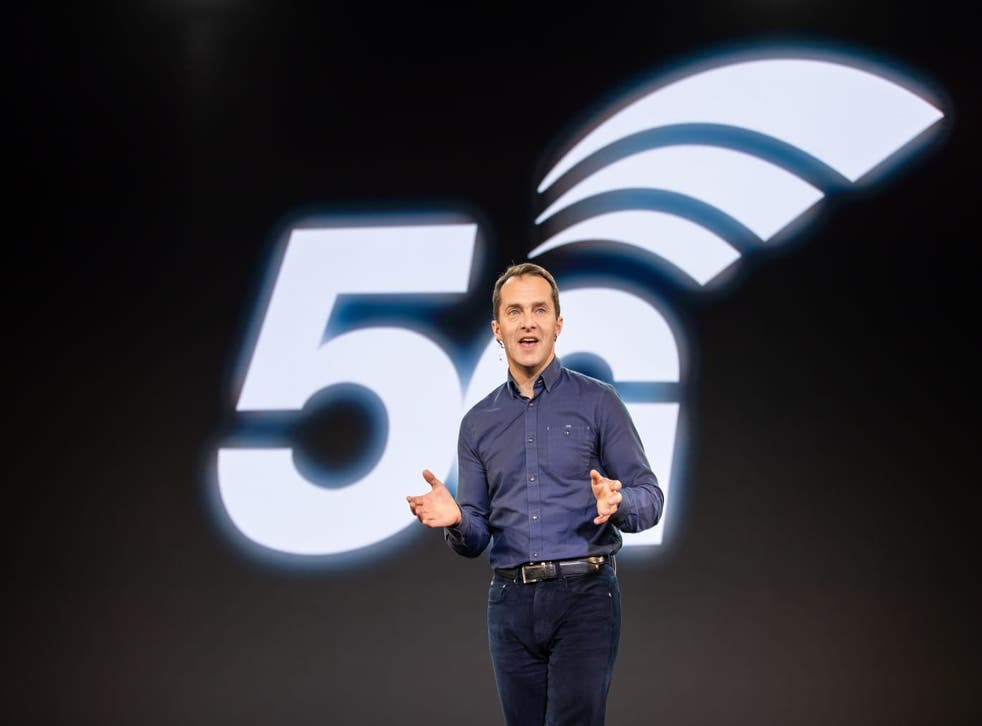 <p>Pierce is evangelical about the transition to 5G</p>