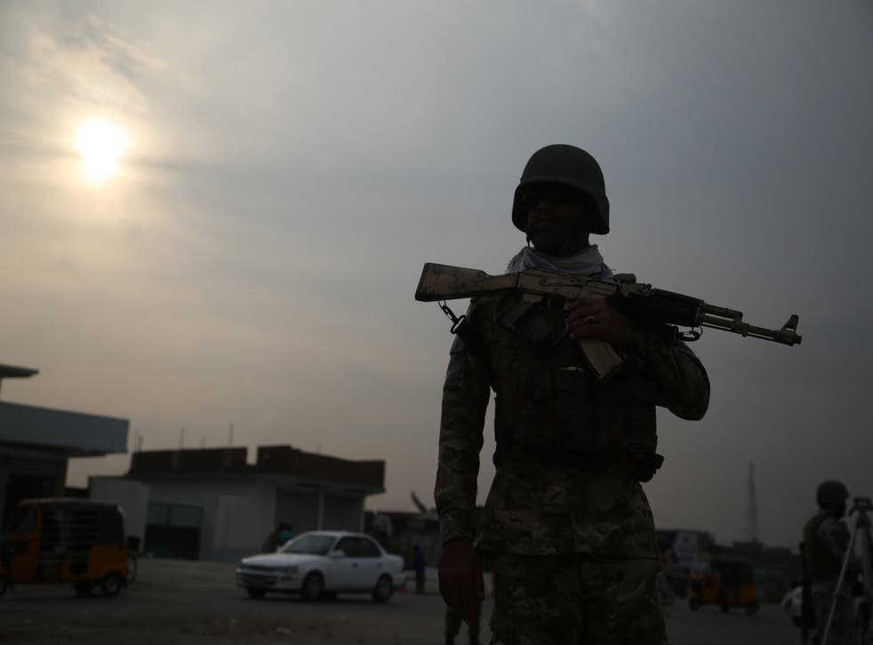 <p>Jalalabad is located in the province of Nangahar where the Taliban have a presence </p>