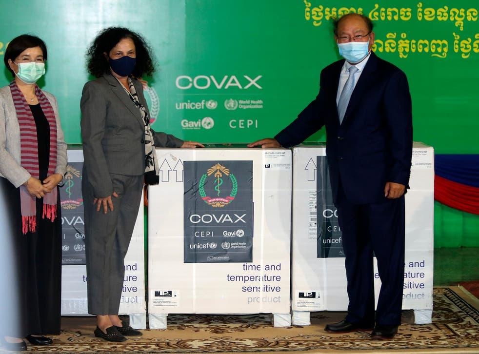 Virus Outbreak Cambodia Vaccines
