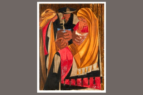 Another Jacob Lawrence painting has been found after going missing for six decades