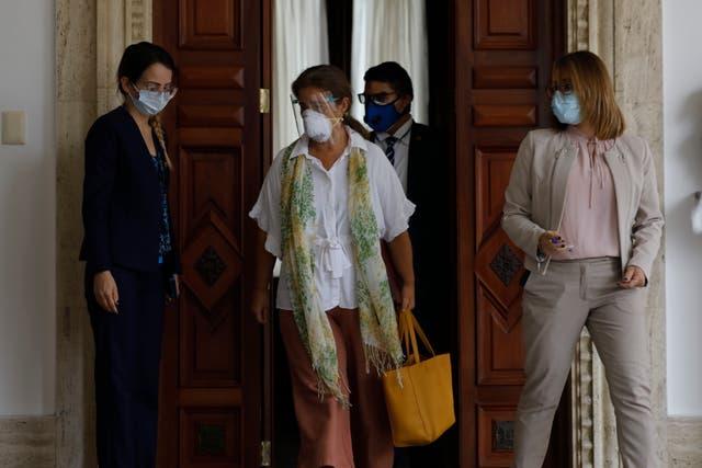 <p>La principal diplomática de la Unión Europea en Venezuela abandonó el país este martes.   </p>