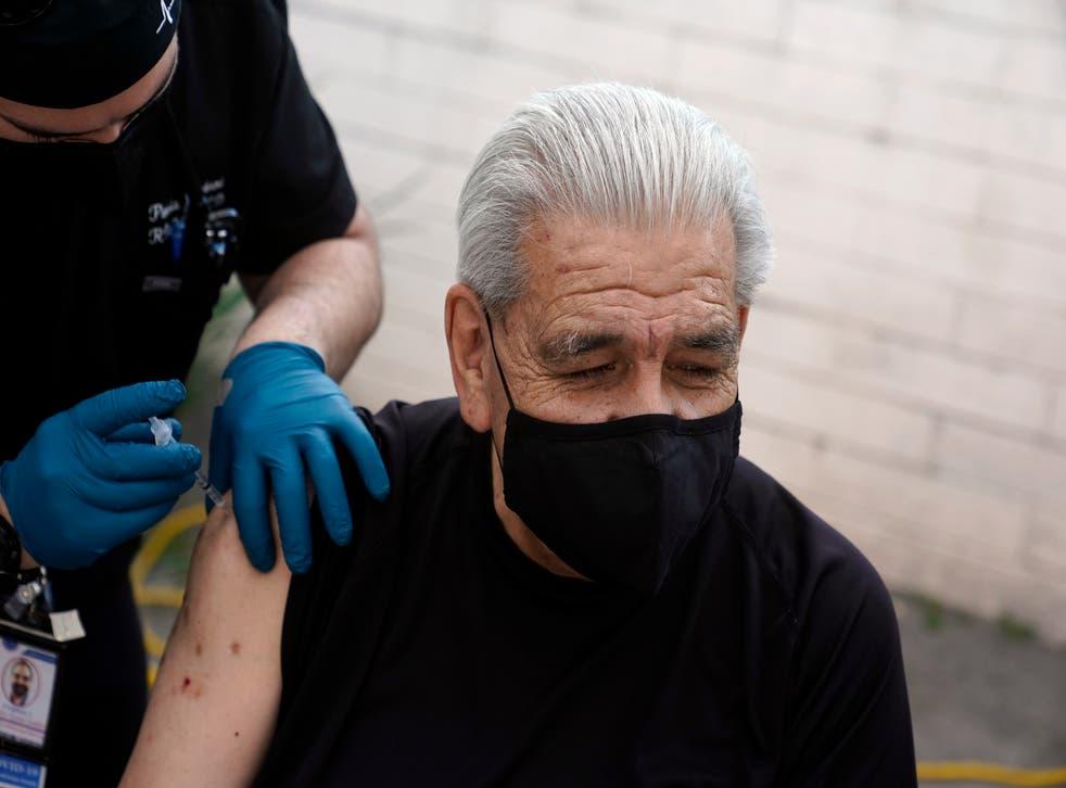 Virus Outbreak California Vaccine Equity