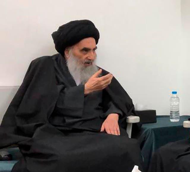 Iraq Pope Sistani