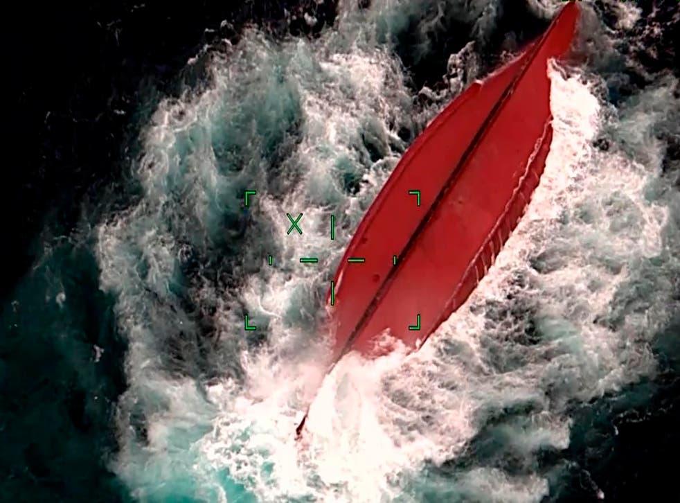 Japan China Boat Capsized