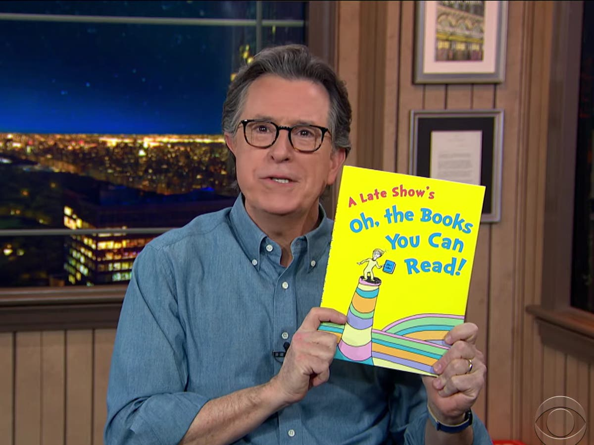 Stephen Colbert praises decision to stop publishing six Dr Seuss books over racist undertones
