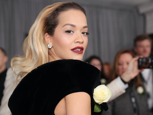 Rita Ora met Madonna during a campaign for her clothing line