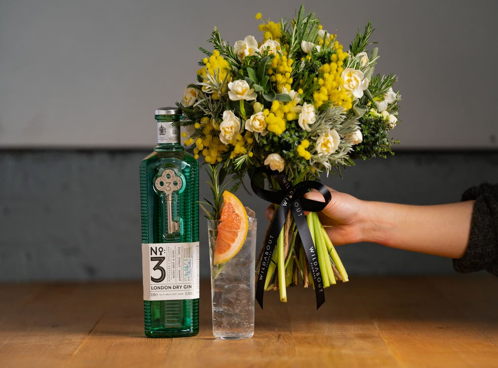 No3 Gin x Wildabout Gin & Garnish Bouquet