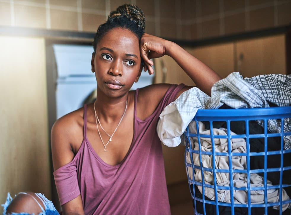 Women and girls are are spending more time undertaking stereotypically 'female' chores during lockdown compared with boys