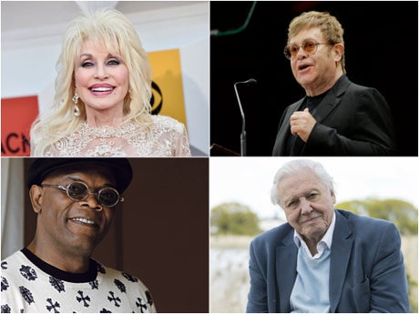 Celebrities who have had the Covid vaccine, from Dolly Parton to Elton John