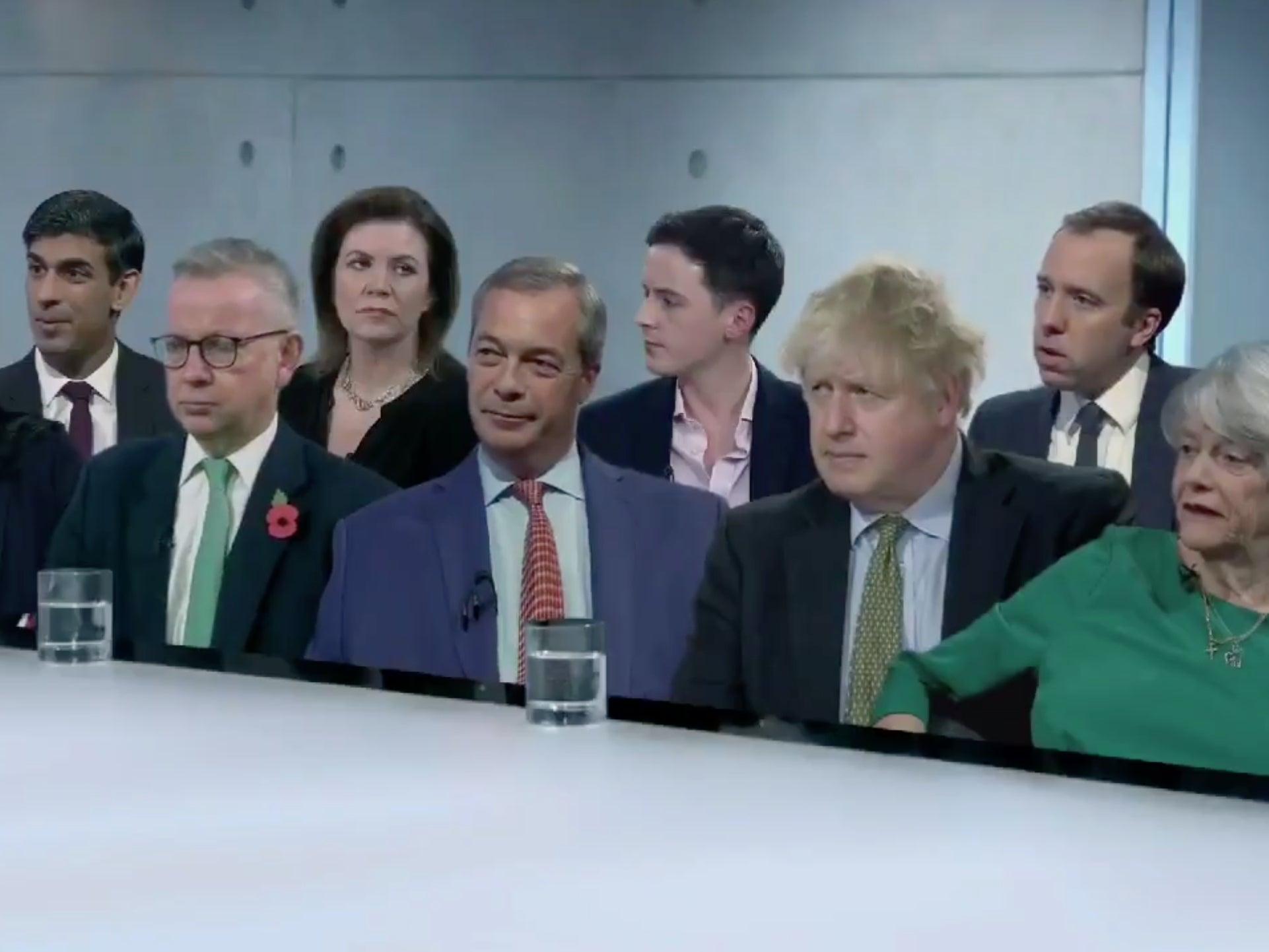 Brutal sketch reimagines Tories as Apprentice candidates