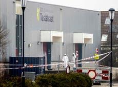 Explosión en el centro de pruebas holandés de COVID