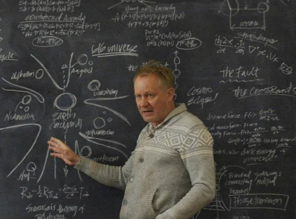 pDr Erik Selvig's whiteboard may provide clue to X-Men's arrival/p