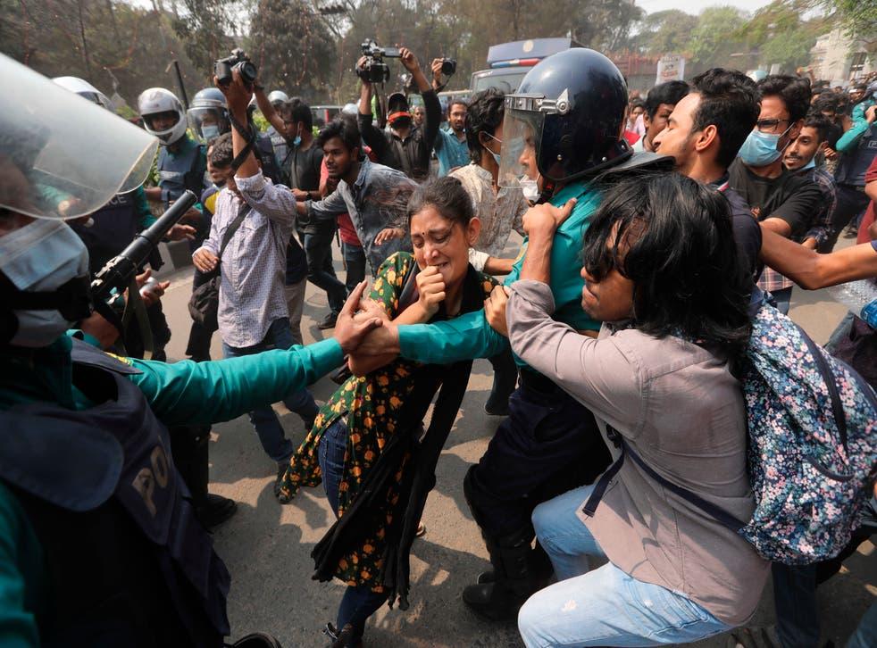 APTOPIX Bangladesh Digital Security Law