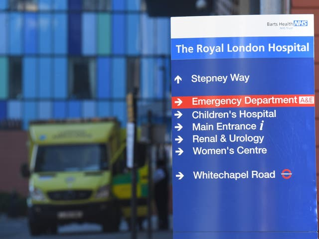 <p>The Royal London Hospital, in Whitechapel, treated hundreds of Covid-19 patients  </p>