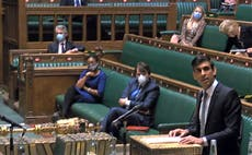 Budget 2021 - live: Rishi Sunak accused of Tory favouritism in 'level up' cash allocation