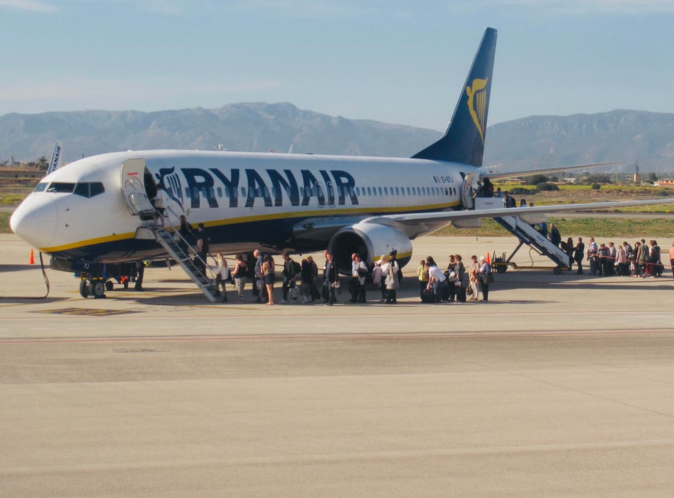 <p>Ryanair will offer £60 tests</p>