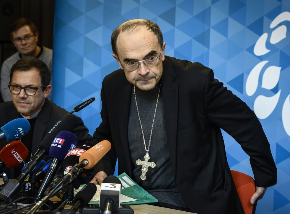 France's top cleric, Cardinal Philippe Barbarin, was found guilty of failing to report past acts of sex abuse by a priest, but had his conviction overturned after offering to quit