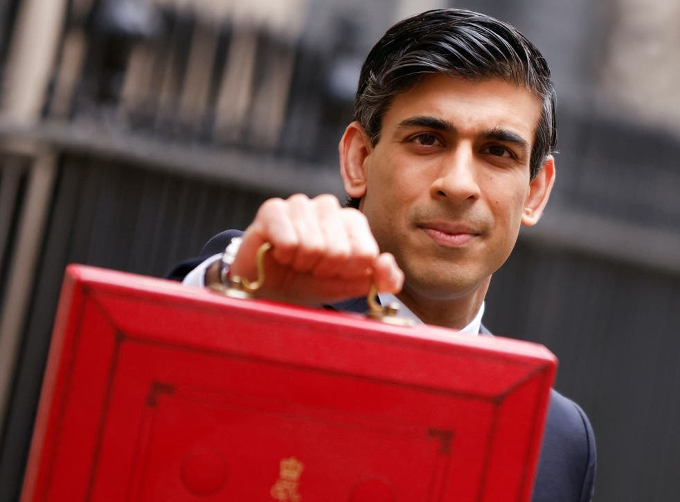 <p>Rishi Sunak delivered his Budget on Wednesday</p>