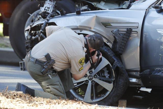 """<p>La llamada """"caja negra"""" del vehículo conducido por Woods la semana pasada revelará qué tan rápido viajaba el golfista.   </p>"""